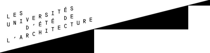 Universités d'été de l'architecture 2014